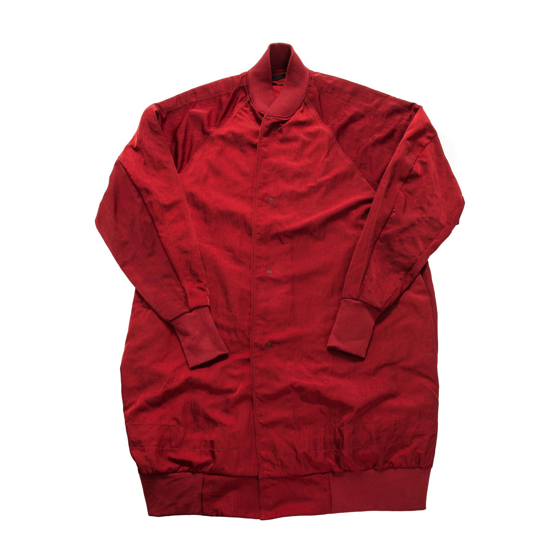 597COM1-RED / ロングスタジアムジャケット