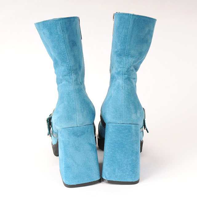 hs18AW-IRS02 BELT SHORT BOOTS (blue)