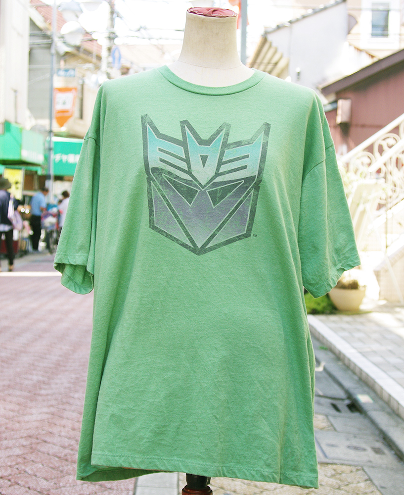 "【USED】 T-shirt ""TRANS FORMERS"" Mens/XL-size"