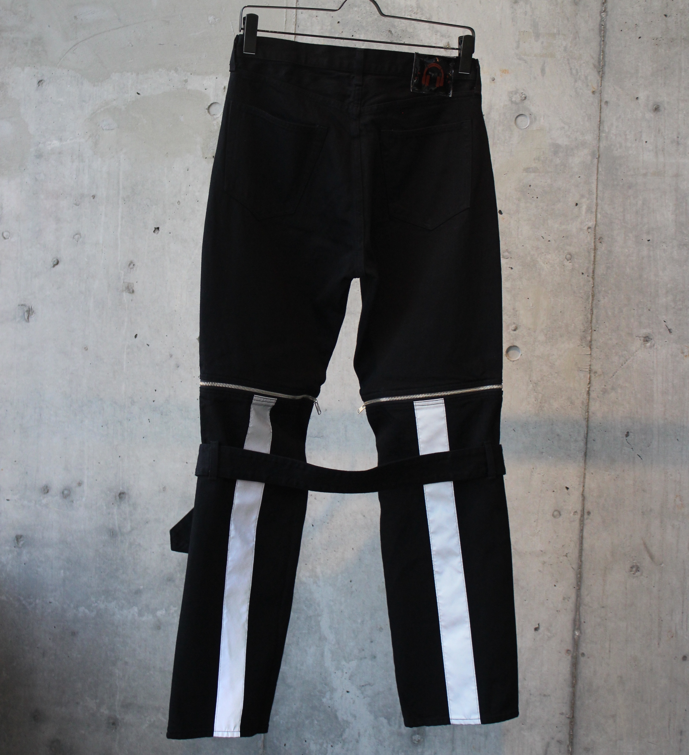 DENIM BONTAGE PANTS / BLACK - 画像2