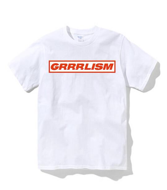 GRRRLISM T(ステッカー付き)【あっこゴリラ】
