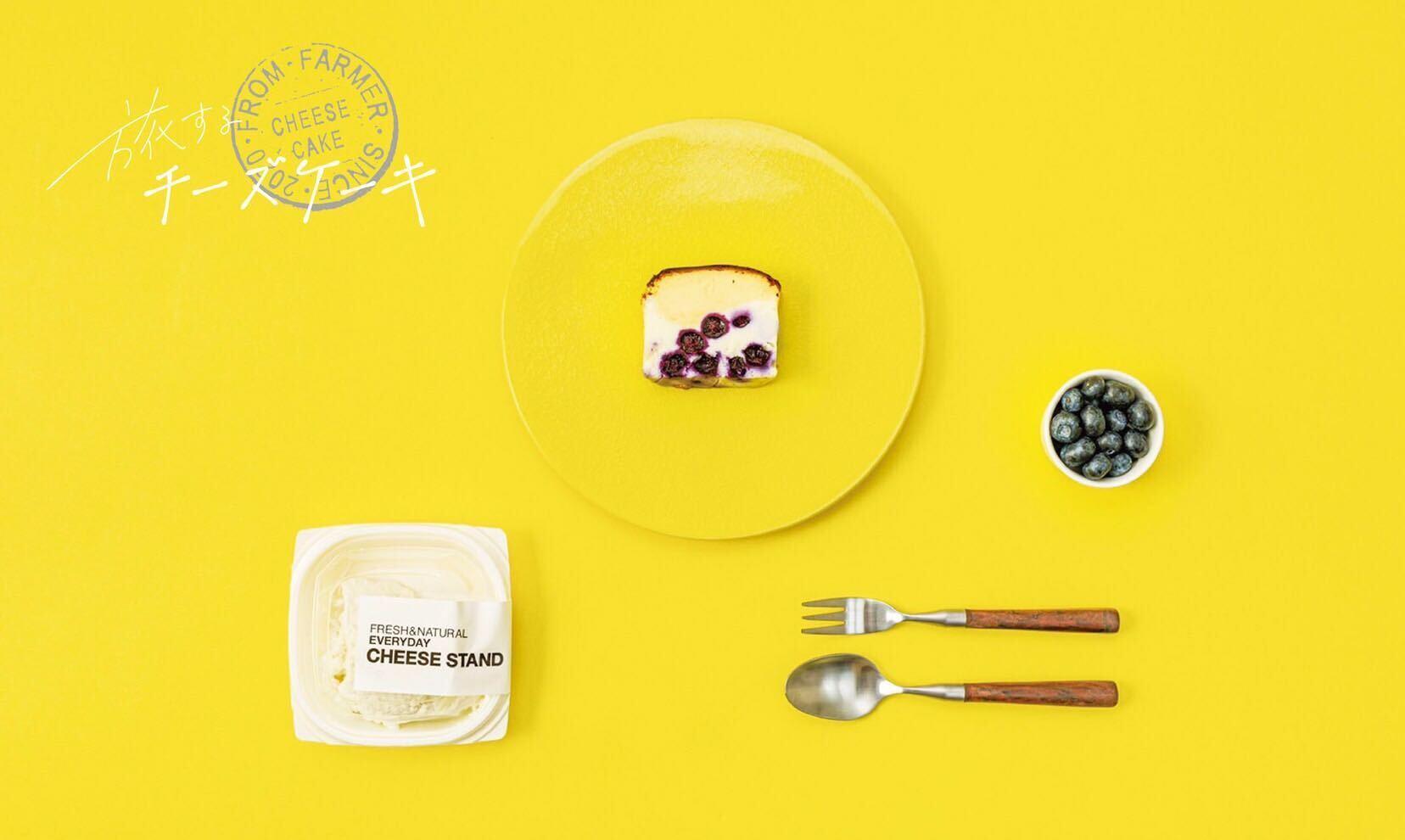 【店頭受け取り希望の方はこちらから】旅するチーズケーキ ハーフ from つくばブルーベリーゆうファーム