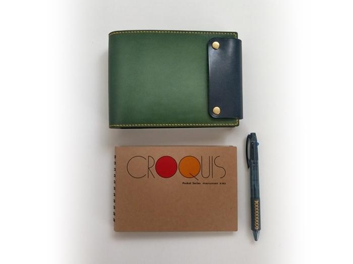 CROQUIS Pocket(maruman)専用レザーカバー