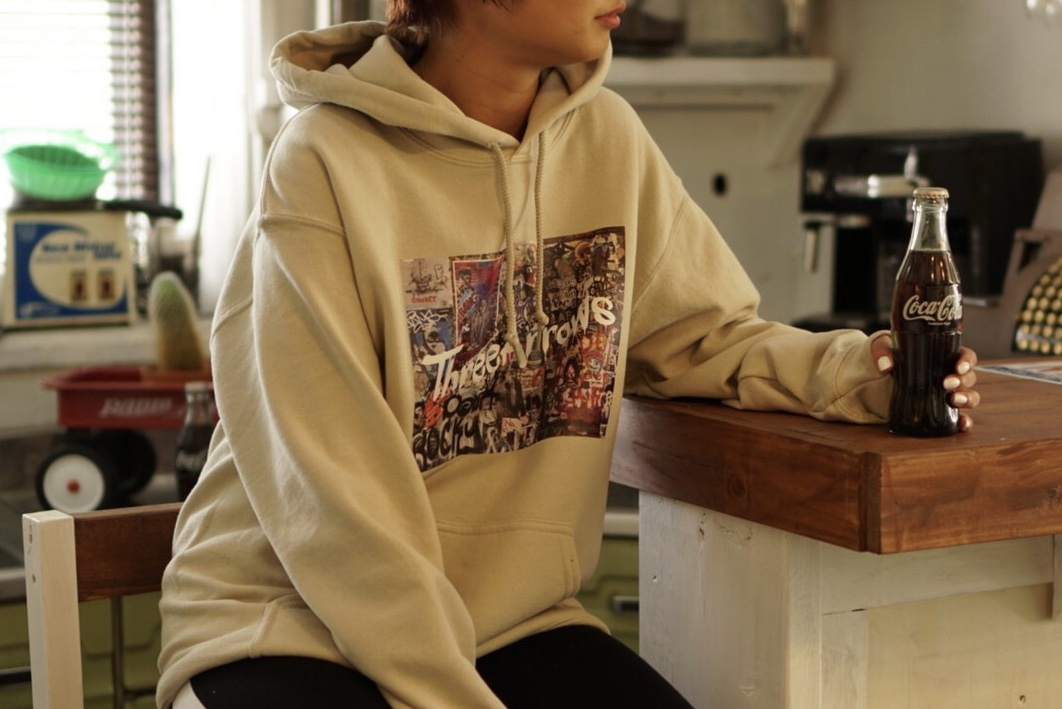 "【12/4 21:00 販売開始】NY PHOTO ""SOHO"" Foodie(beige)"