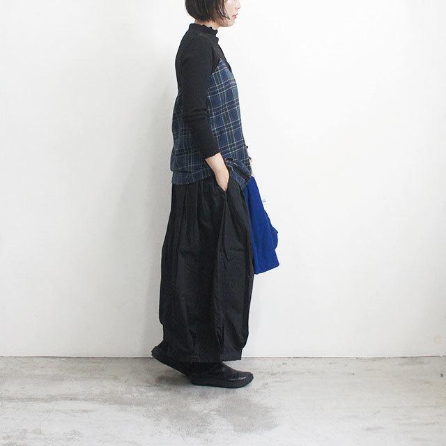 Neu-tral wear life ニュートラルウェアライフ 起毛チェックキャミソール 【返品交換不可】 (品番n-104)