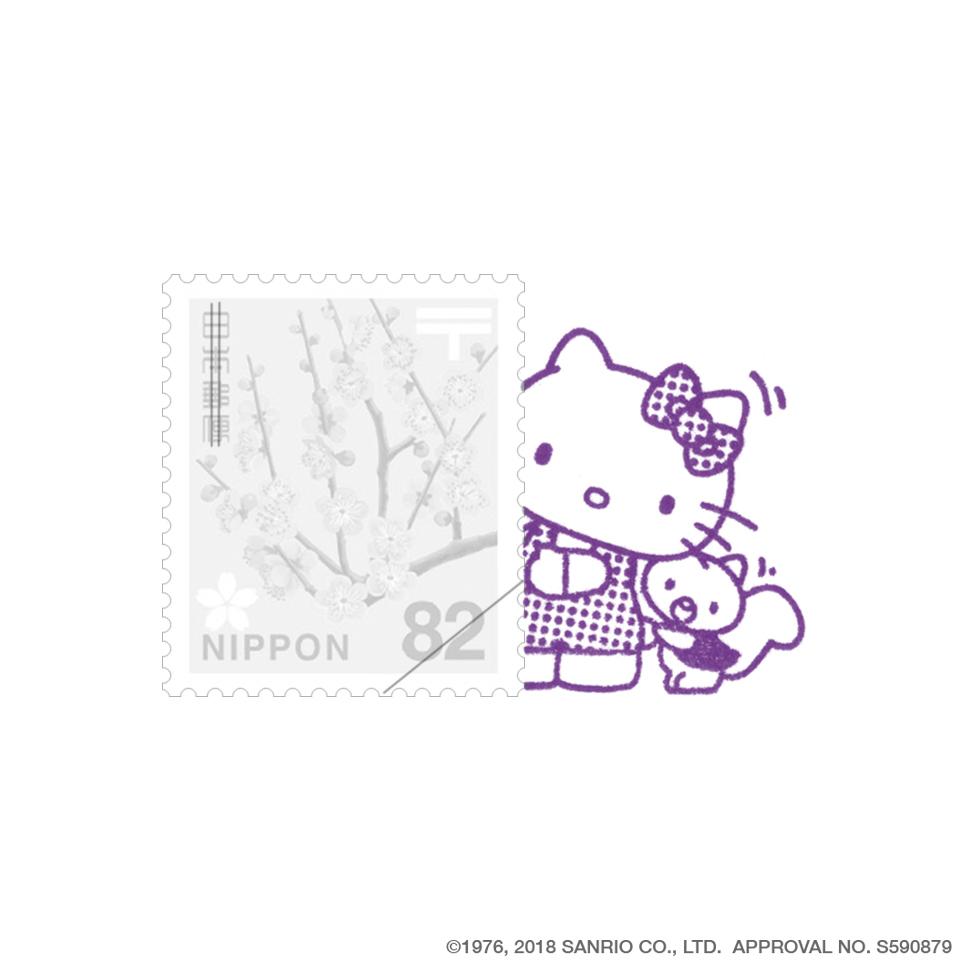 Hello Kitty-02 こっそりハローキティとローリー