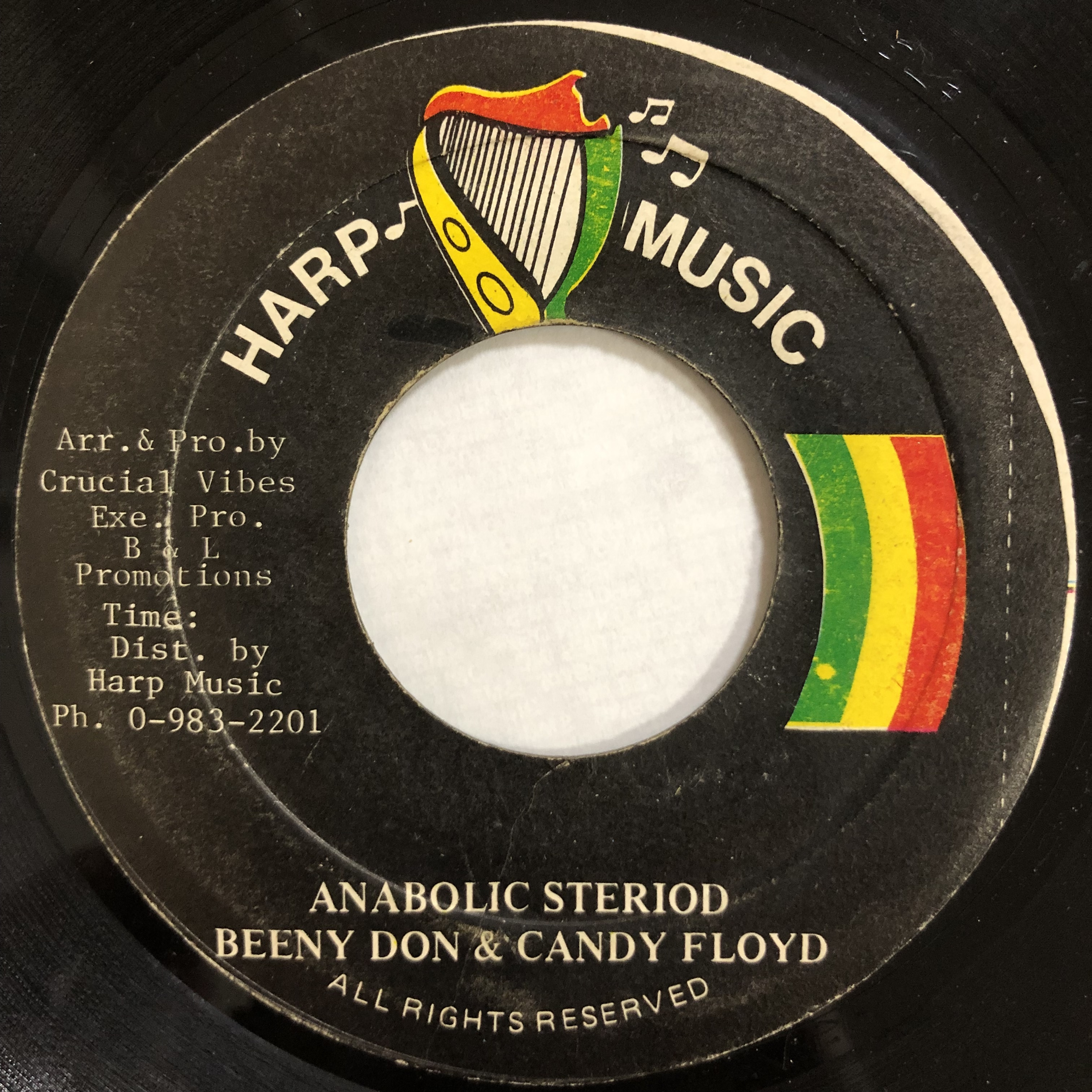 Beeny Don, Candy Floyd - Anabolic Steriod【7-20153】