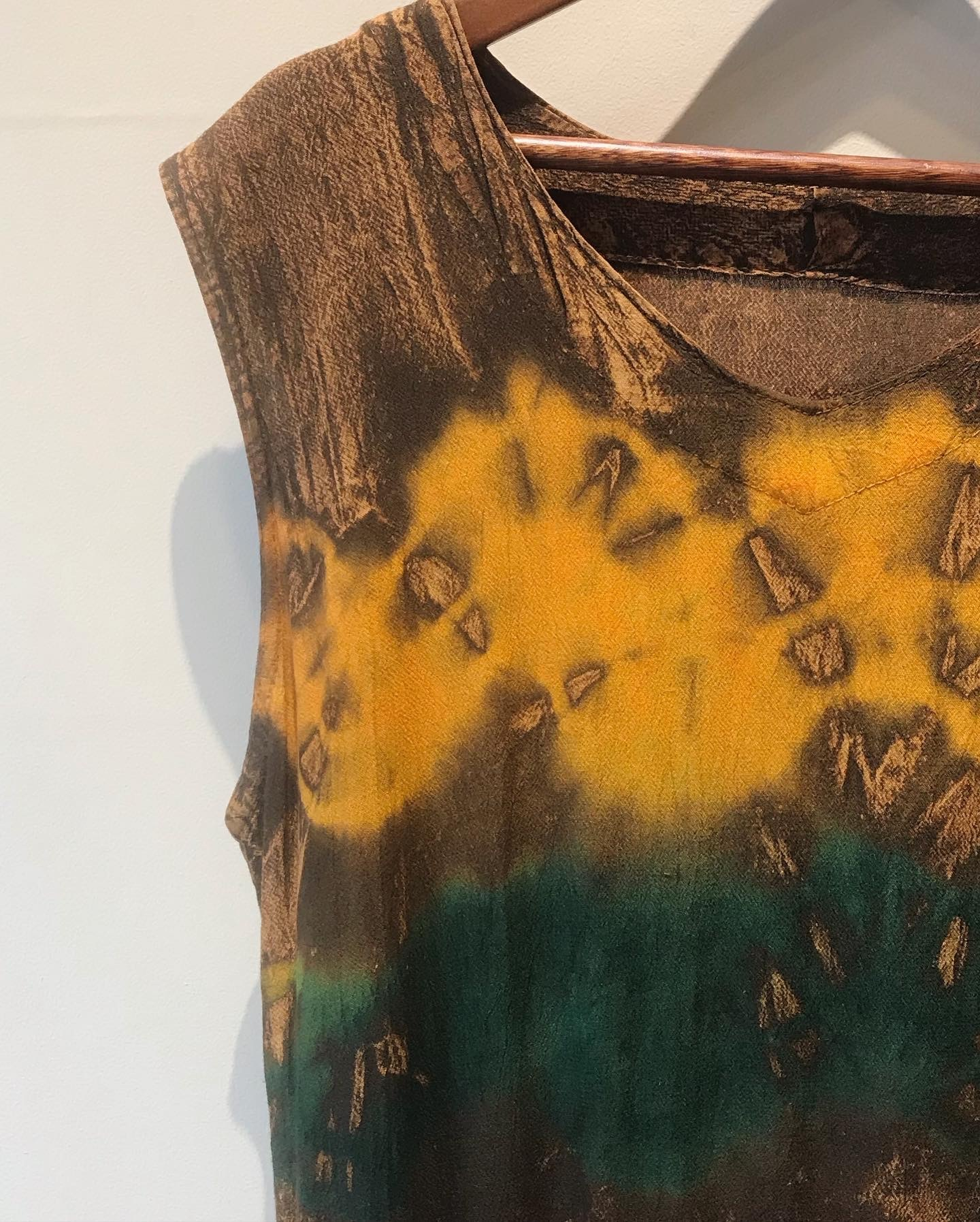 vintage  tie-dye onepiece