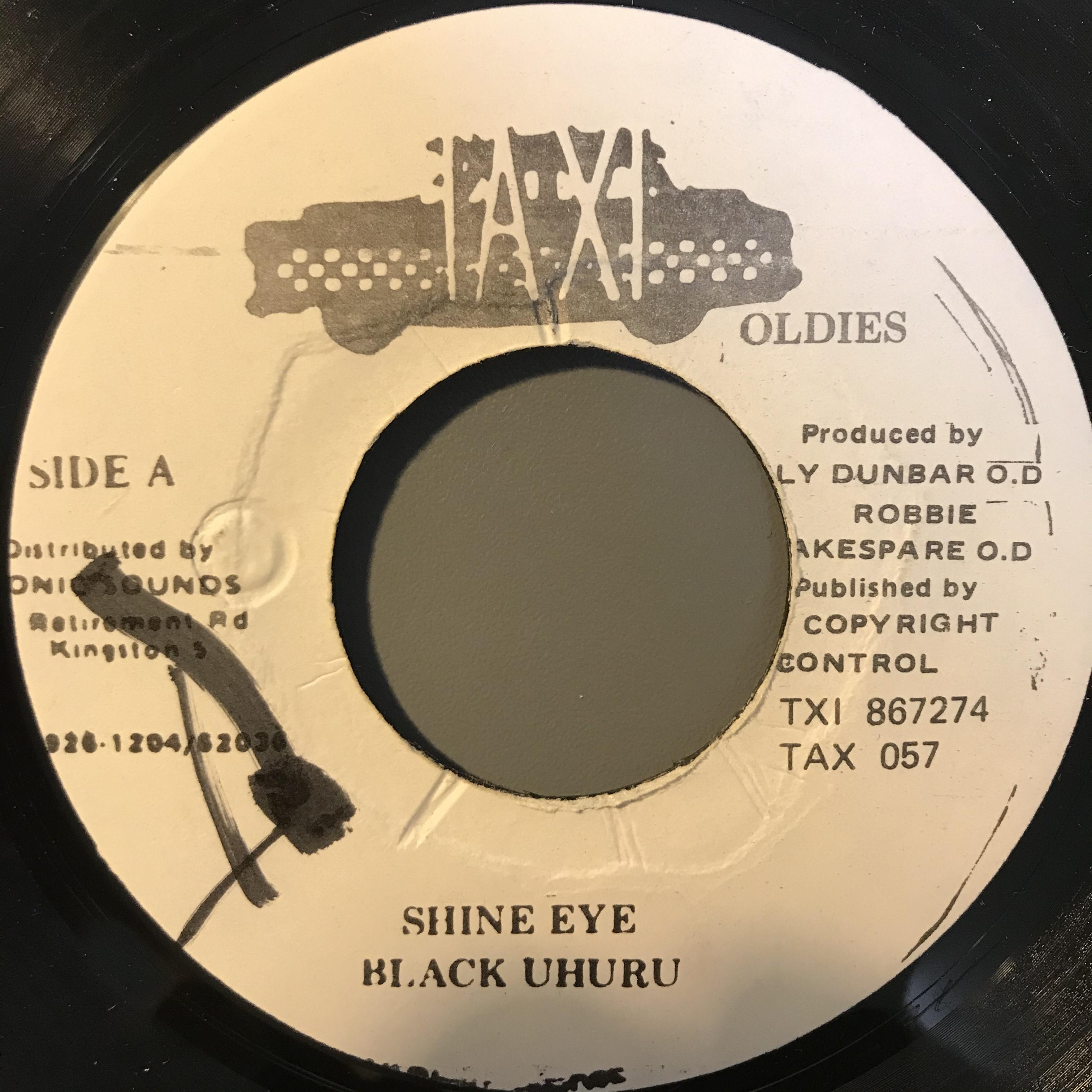Black Uhuru - Shine Eye【7-10827】