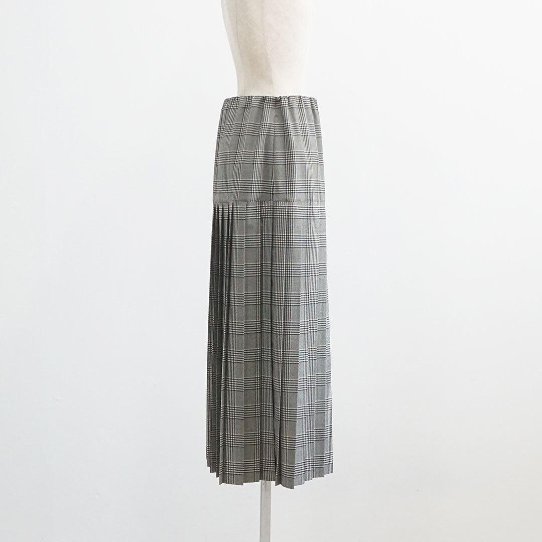 MidiUmi ミディウミ pleated skirt プリーツスカート (品番3-768203)