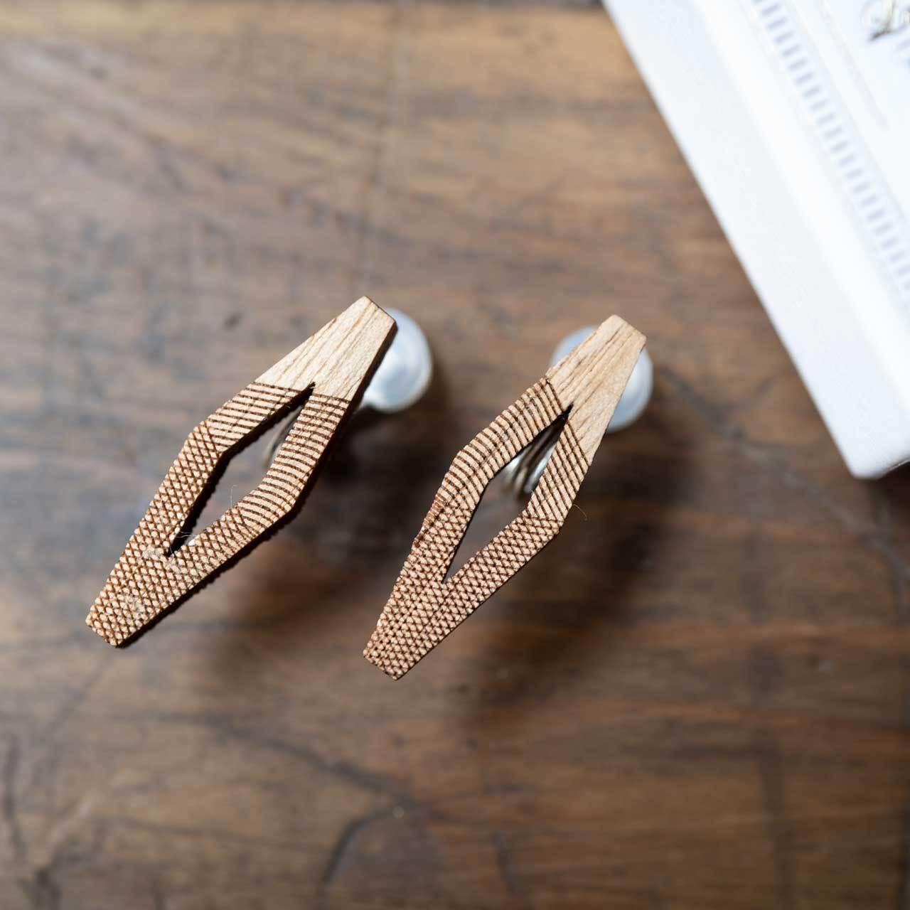 rhombus / ロンブス(Pierced Earring)