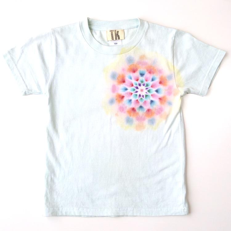 TKHOME タイダイ染め キッズTシャツ 120cm