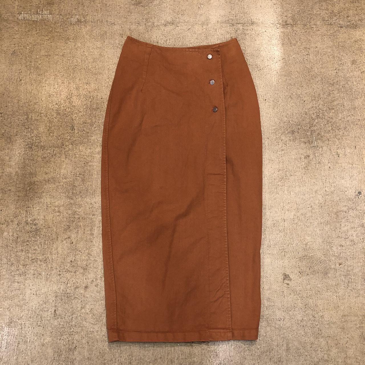 Wrap Long Skirt ¥5,400+tax