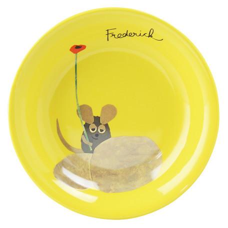 レオ・レオニ パスタプレート 皿(フレデリック) - 画像1