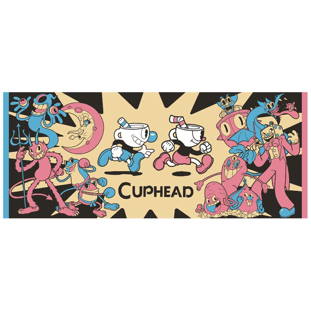 CUPHEAD ( カップヘッド ) フェイスタオル B / エンスカイ
