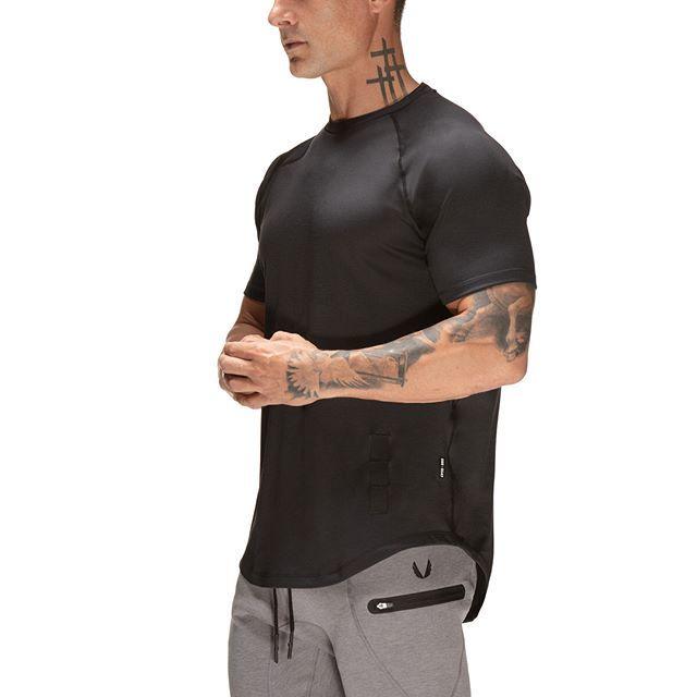 【ASRV】SilverPlus® エスタブリッシュTシャツ - Black
