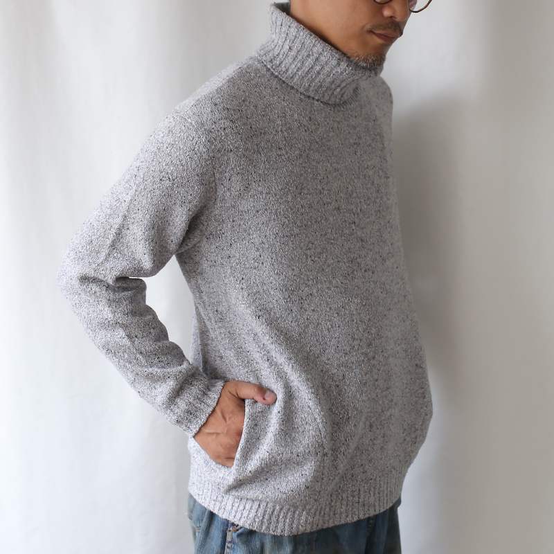 410006_Off-turtle Pullover(グレー)