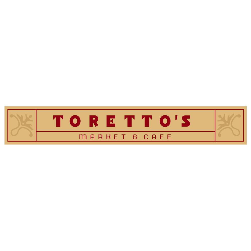 "316  TORETTO'S MARKET&CAFE  ""California Market Center"" アメリカンステッカー スーツケース シール"