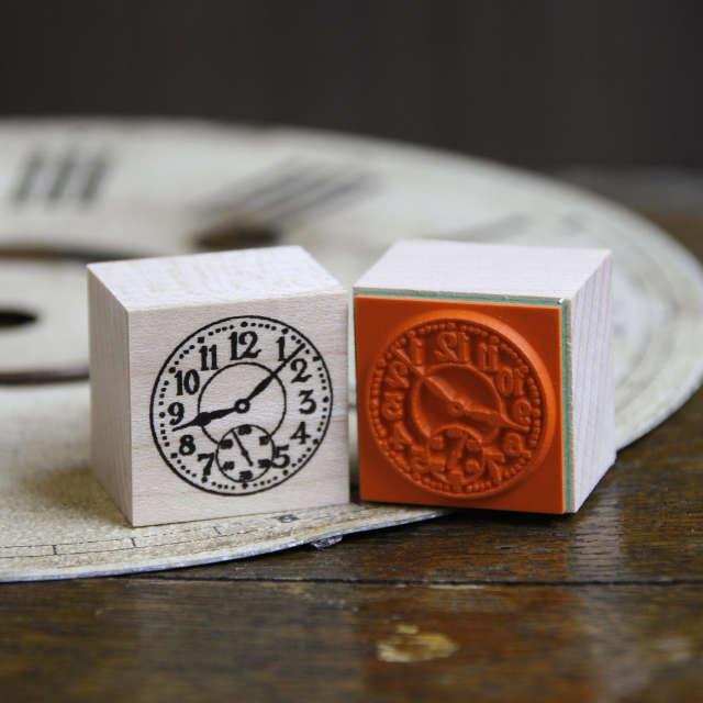 スタンプ - 時計文字盤 アラビア数字 - 金星灯百貨店