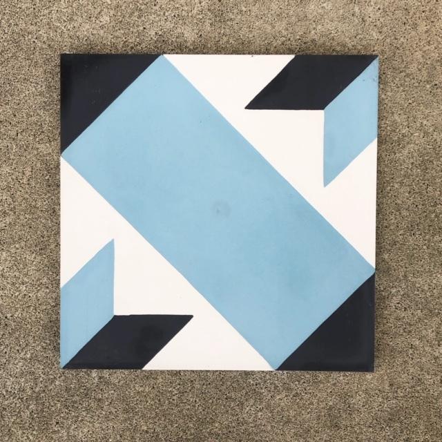 セメントタイル 20×20cm (No.12)