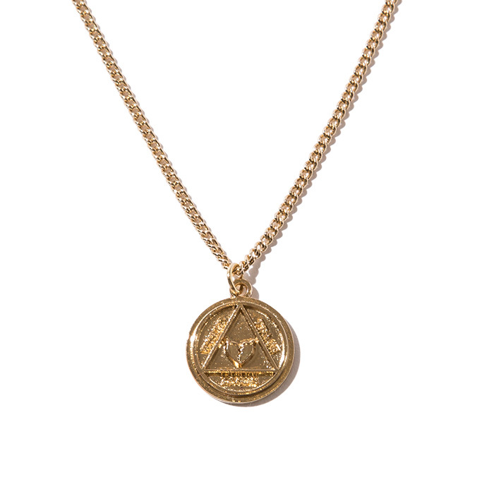 Deviluse(デビルユース)   Coin Neckless(Gold)