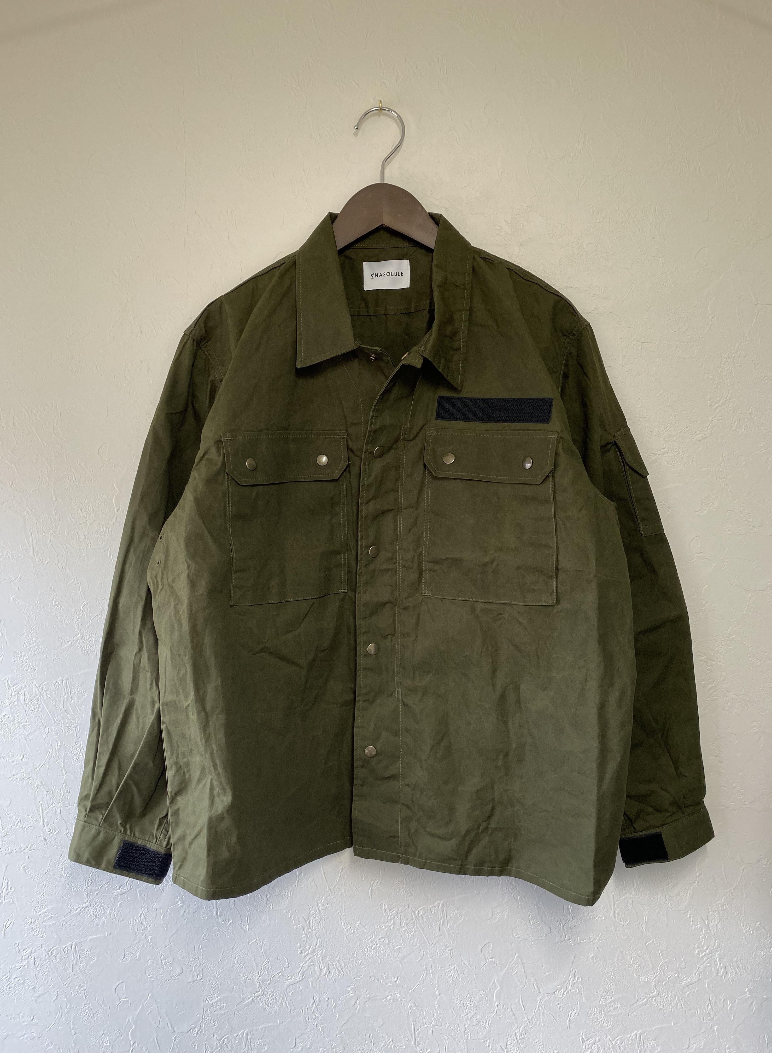 ANASOLULE  Military JKT / Olive