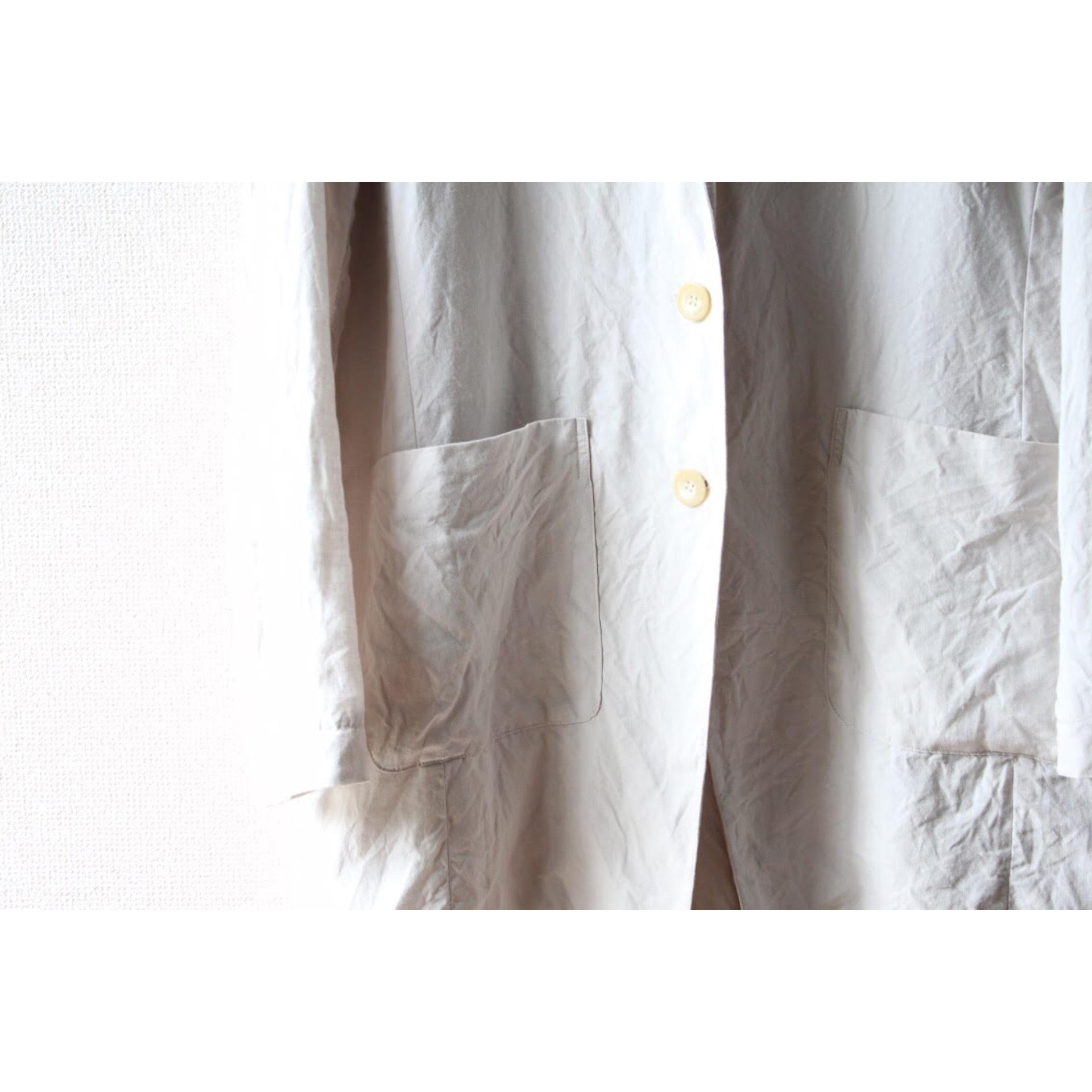 Linen long tailored jacket by Dries Van Noten