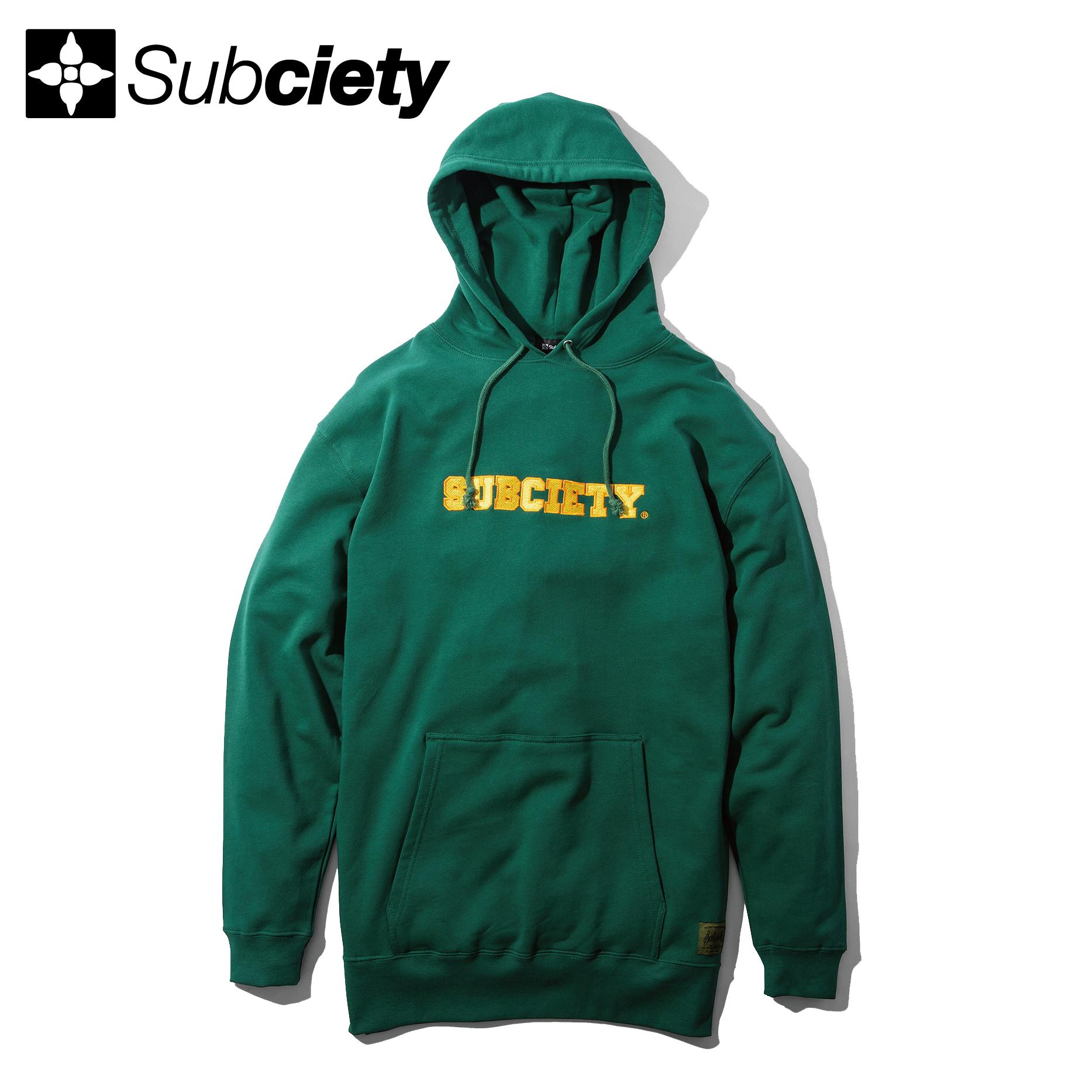 【送料無料】Subciety(サブサエティ) | ACADEMIC PARKA (Green)