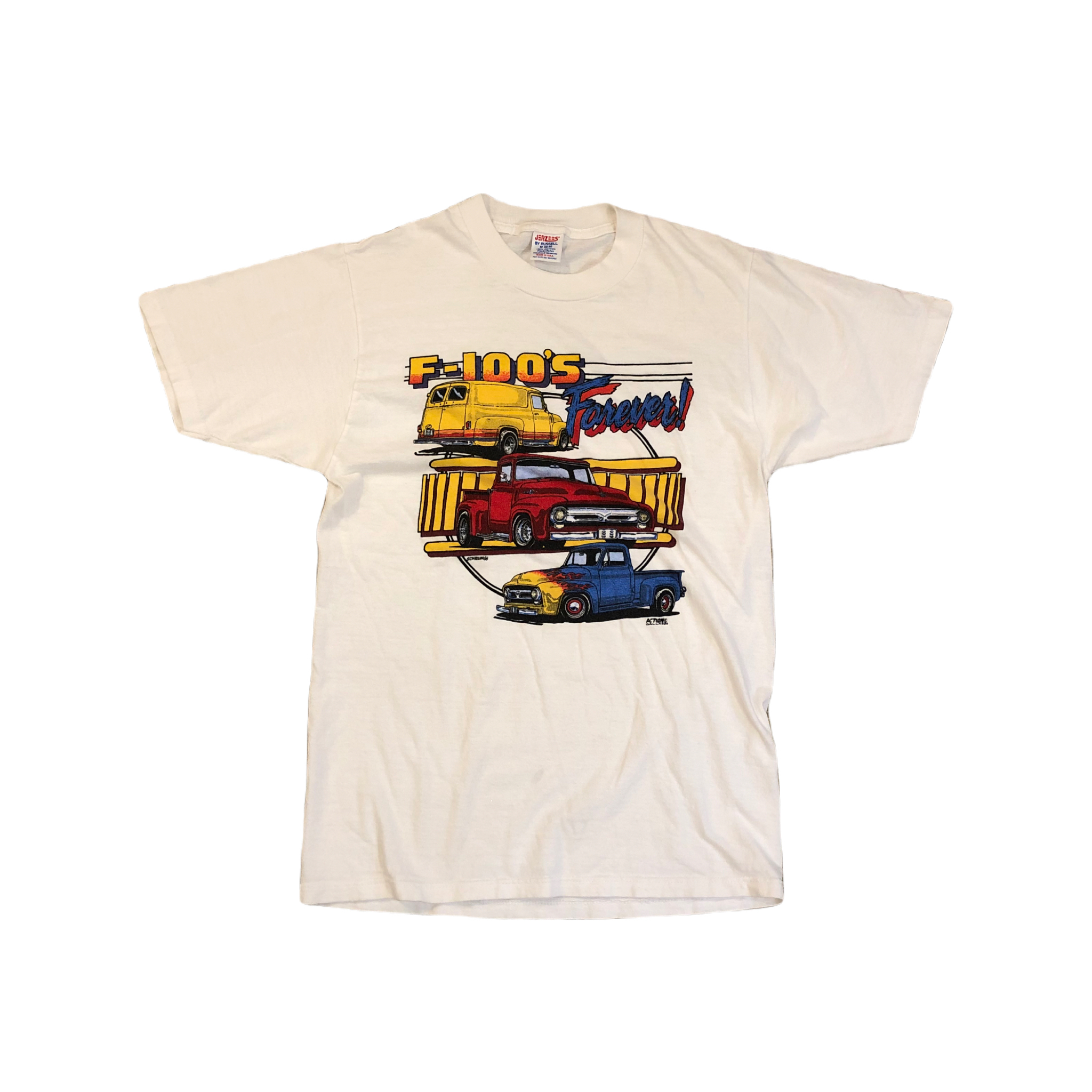 F-100's Forever! Tee ¥5,800+tax