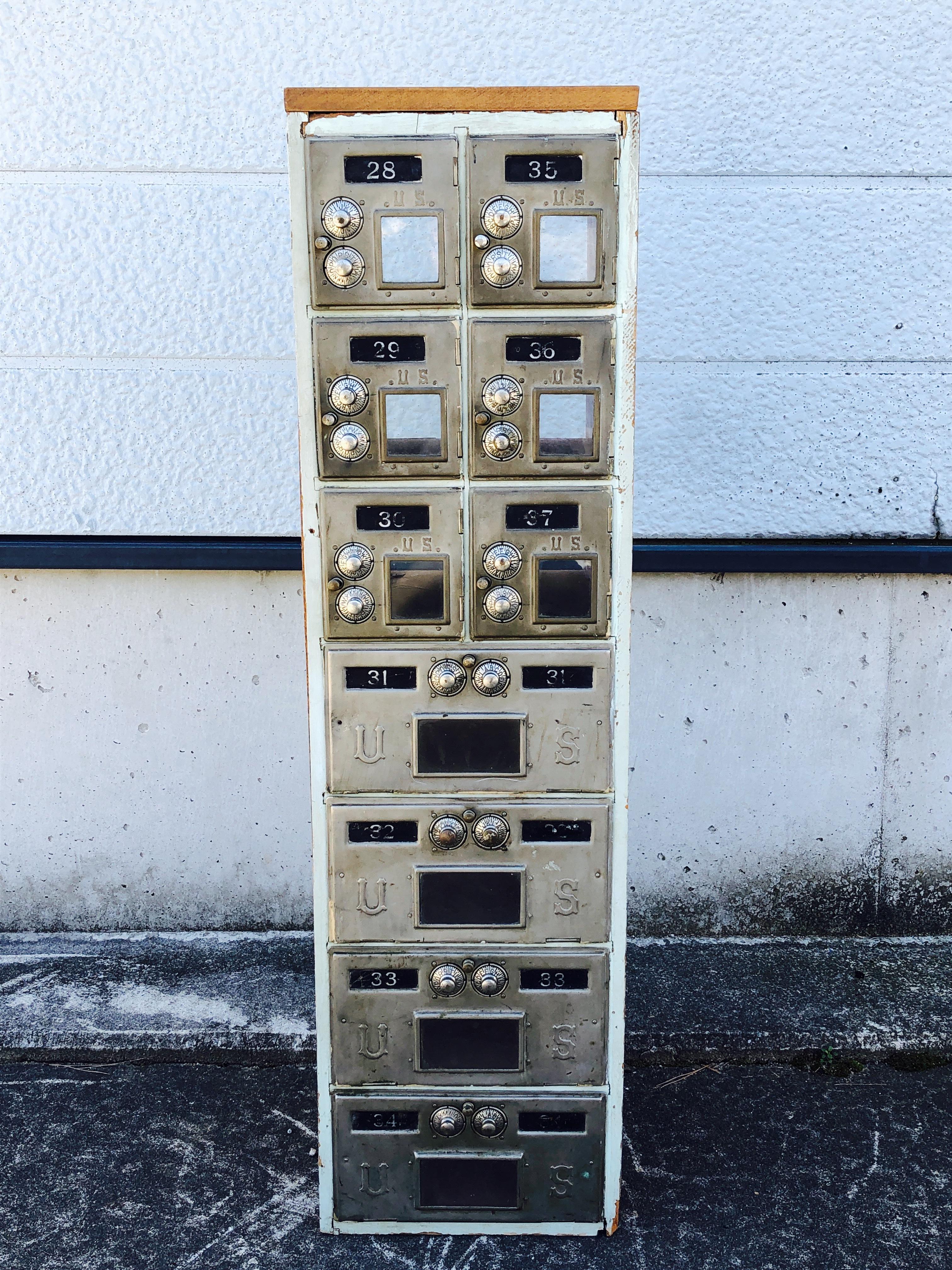 品番0259 US POSTAP BOX 1930年 郵便受け 郵便ポスト ヴィンテージ