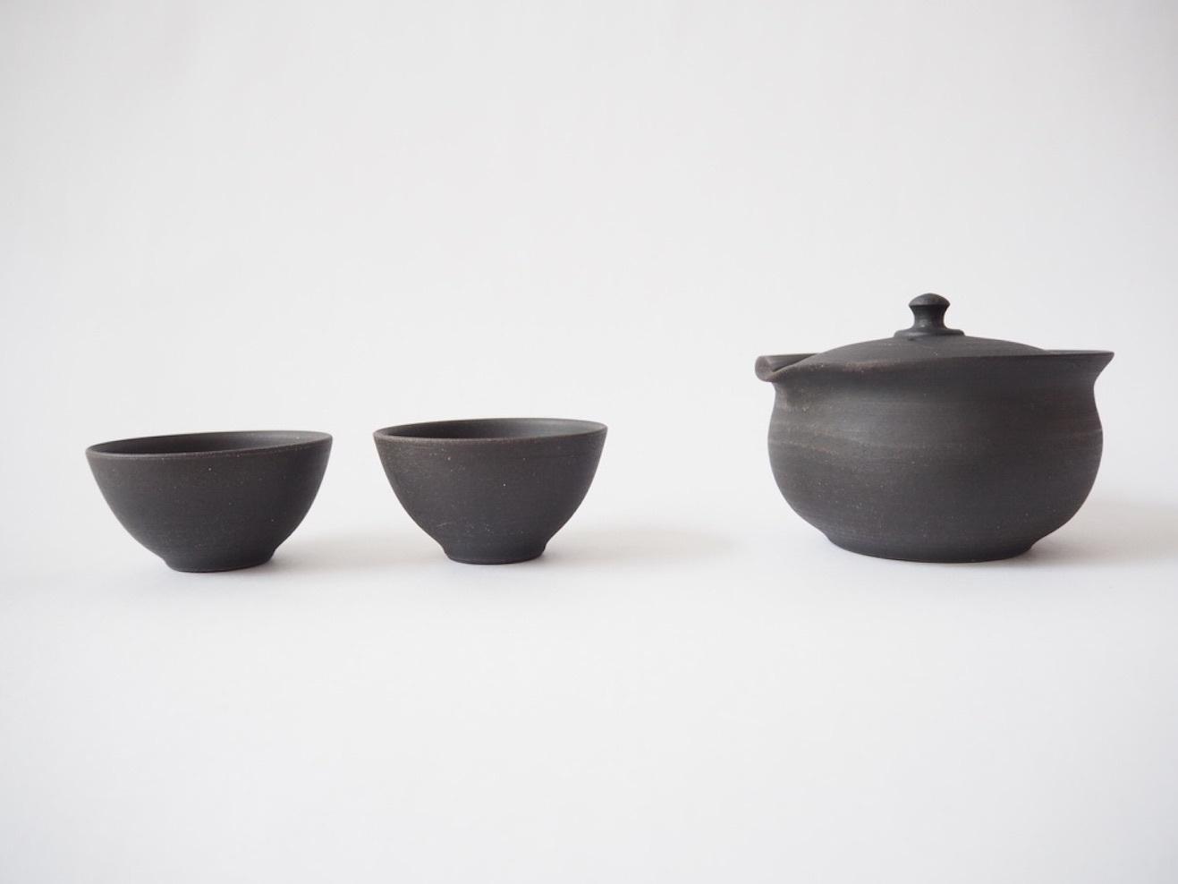 特注 宝瓶 (湯呑セット) / 前川製陶所 四代目 前川淳蔵氏