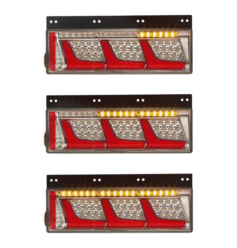 小糸 LED リアコンビネーションランプ 3連 シーケンシャルターン仕様(左)