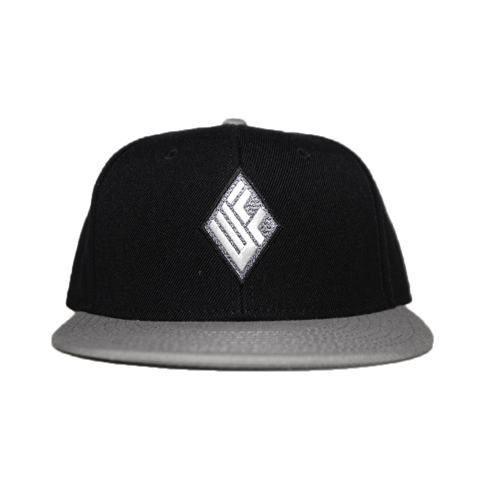 WILL SNAPBACK CAP (BLACK×GREY)