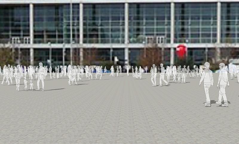 人物線画SketchUp素材 4up_line01_100 - 画像2