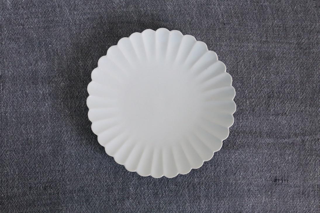 臼杵焼 輪花菊花鉢 rin013