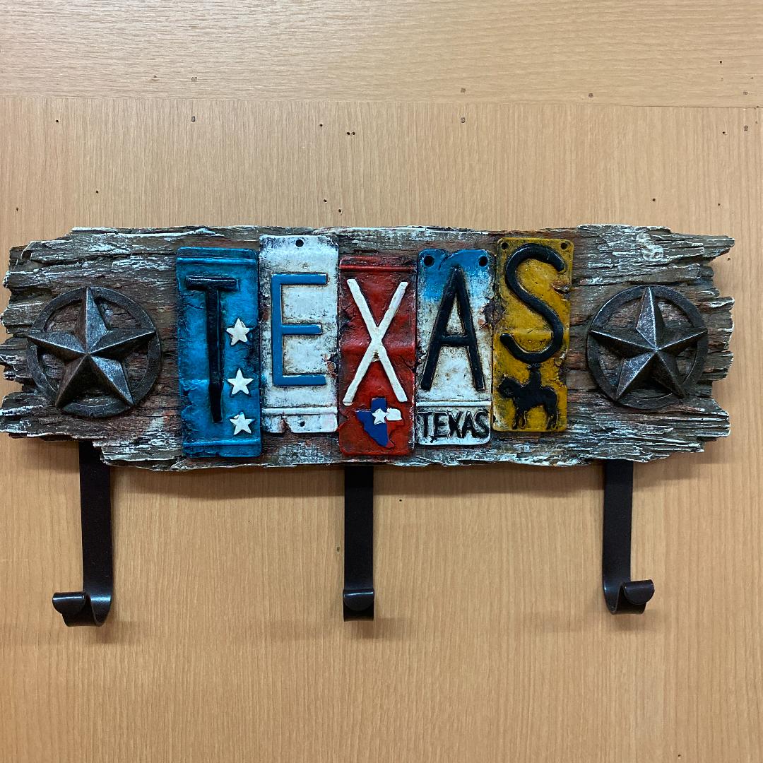 テキサス ラック アメリカン 雑貨 帽子掛 壁掛け オブジェ