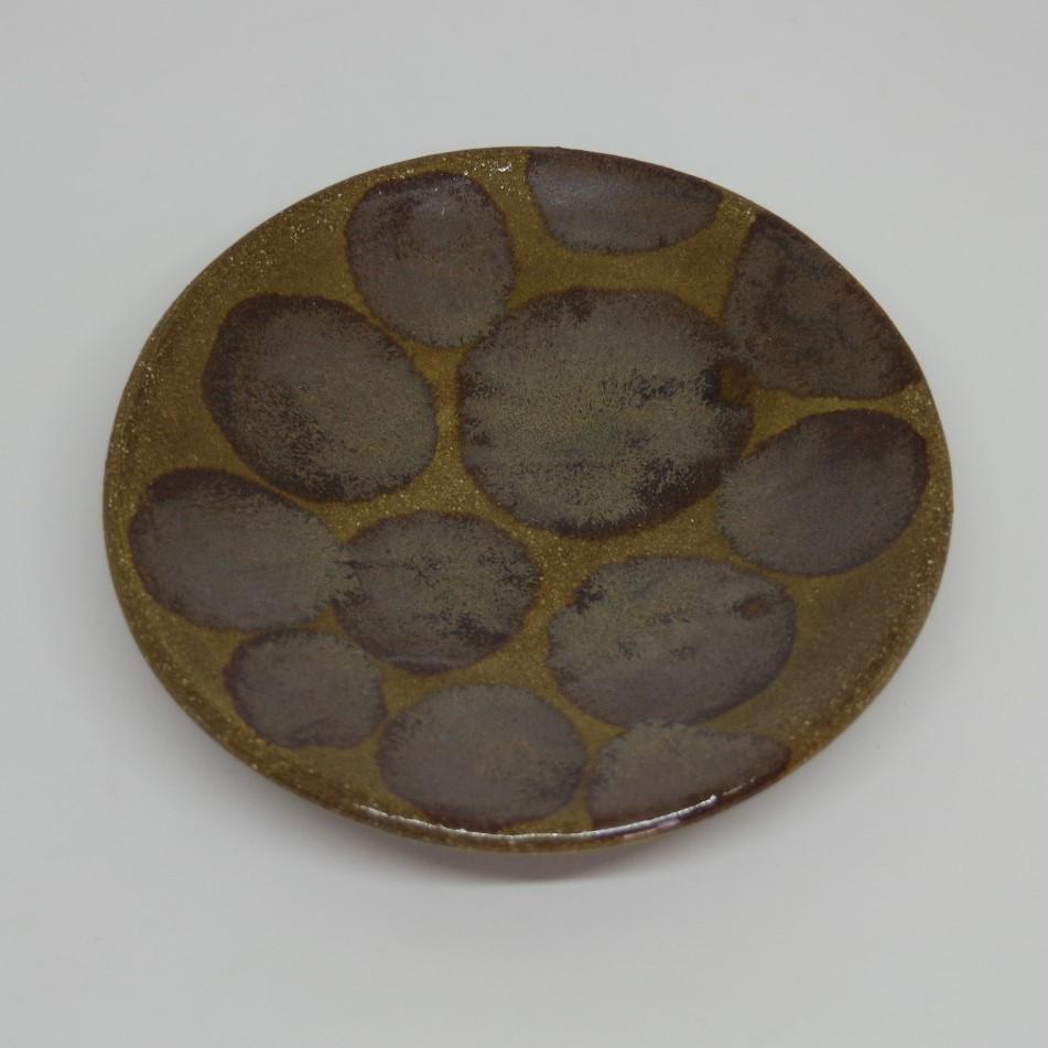 やちむん【土工房陶糸】4.5寸皿