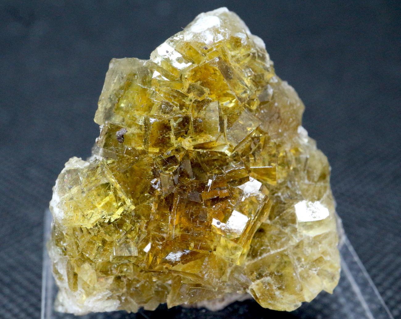 虹が見える!スペイン産 フローライト 蛍石 原石 34,4g  FL031 鉱物 天然石 パワーストーン