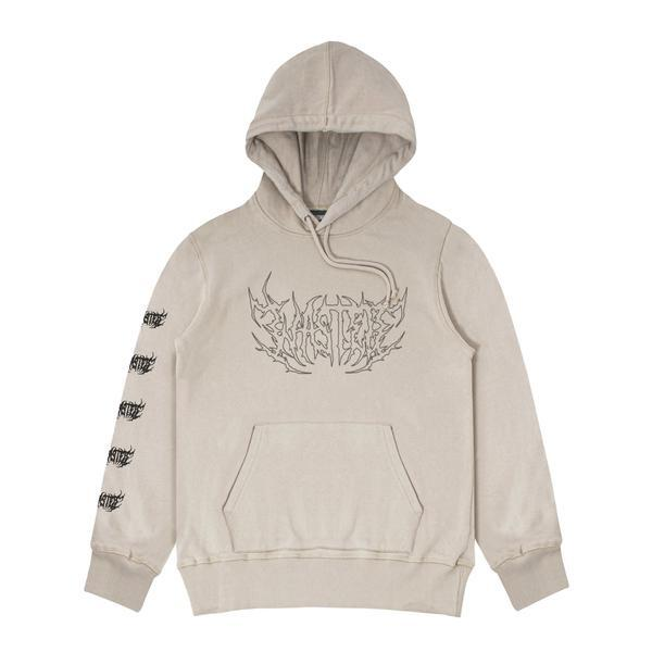 WASTED PARIS Shadow Faded Hoodie SAND