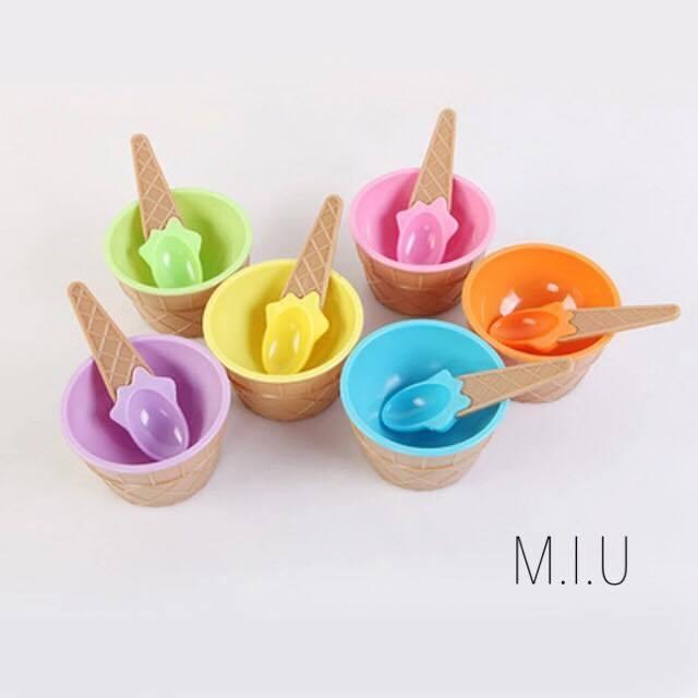 アイスクリームカップ2個セット #MIU583