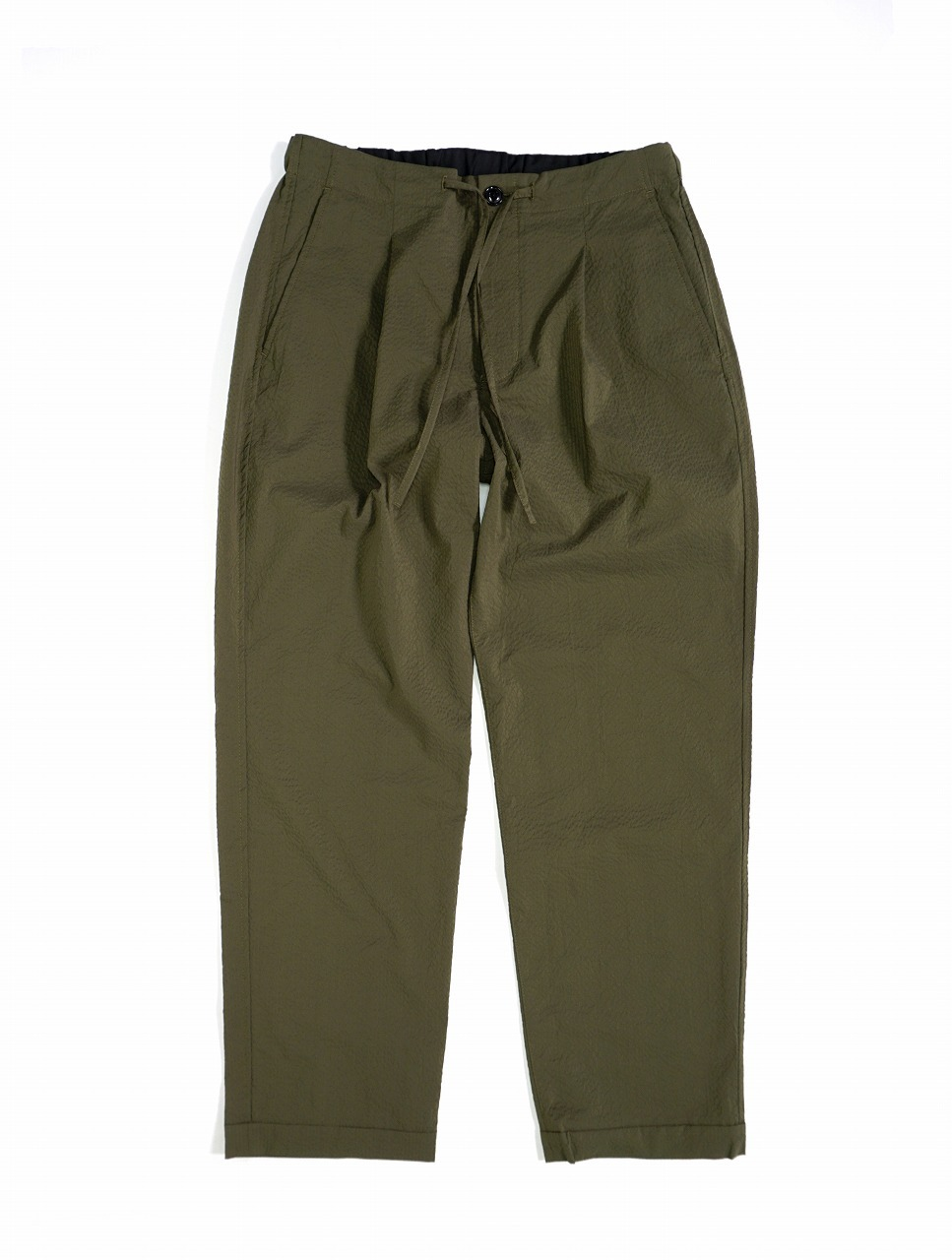 Cool Seersucker Easy Trousers