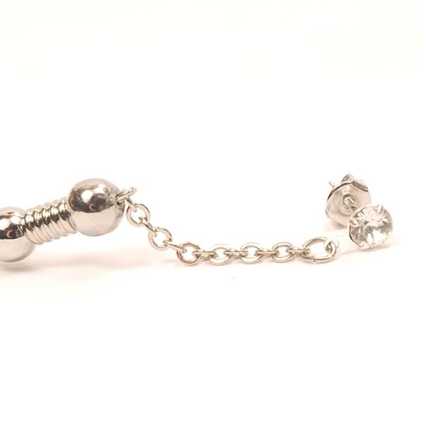 hs17AW-IRJ01 RING PIERCE (silver)