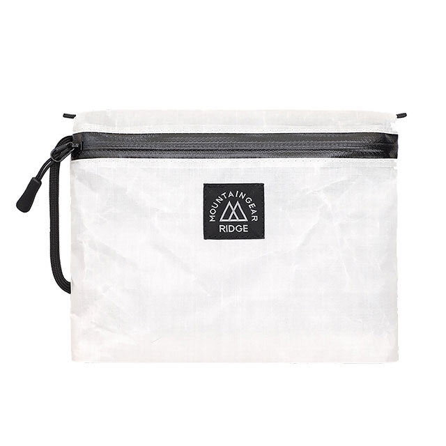 RIDGE MOUNTAIN GEAR Travel Pouch Plus DCF Hybrid(White)リッジマウンテンギア