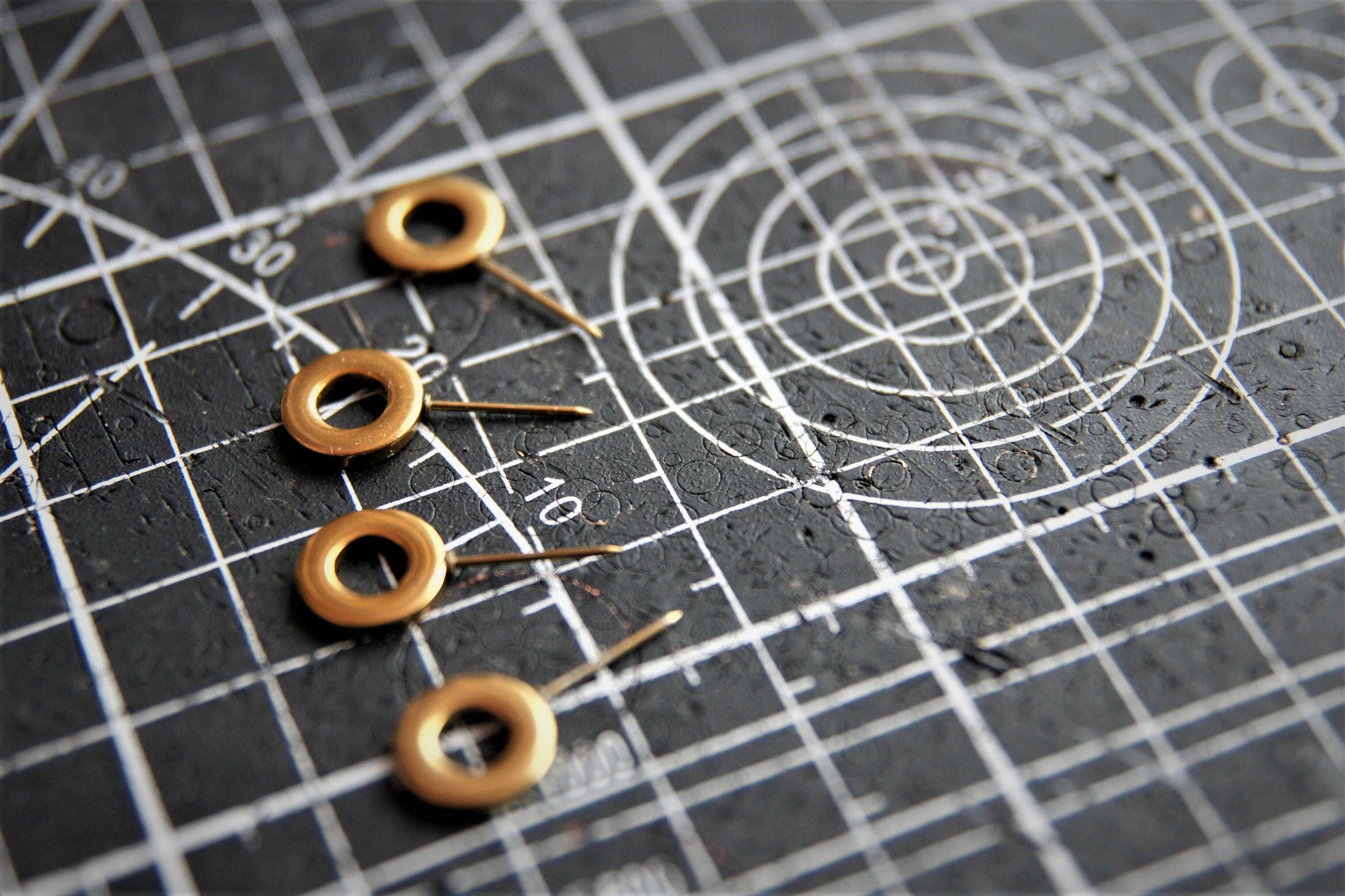 新型仮止めピン 針のみ (予備用、旧タイプで針が根元から折れた方へ)