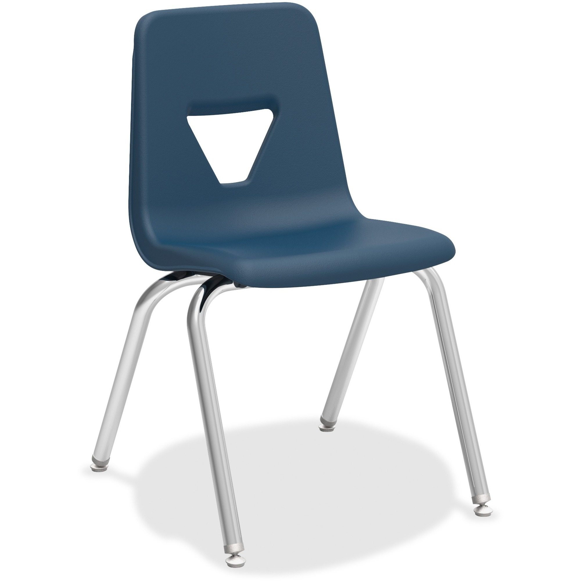 """Lorell 18"""" Seat-height Stacking Student Chair"""