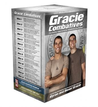 お取り寄せ商品。 Gracie Combatives® DVD Collection 教則DVD全13巻セット スタンダードパッケージ|グレイシーアカデミー|グレイシー柔術