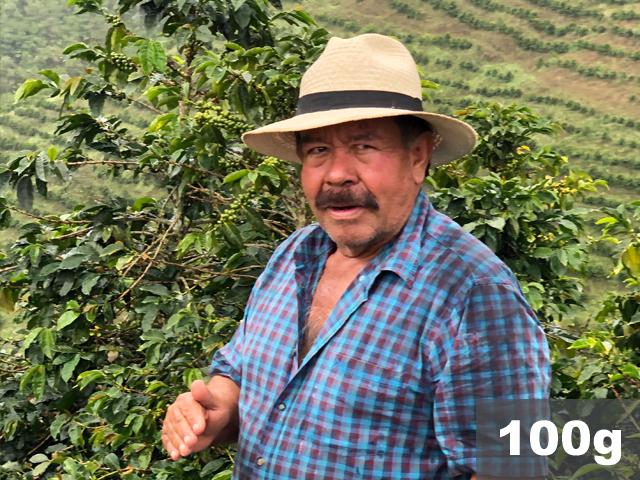 コロンビア | ヨハン・ヴェルガラ農園 ピンクブルボン ナチュラル(ダブルファーメンテーション) | コーヒー豆100g