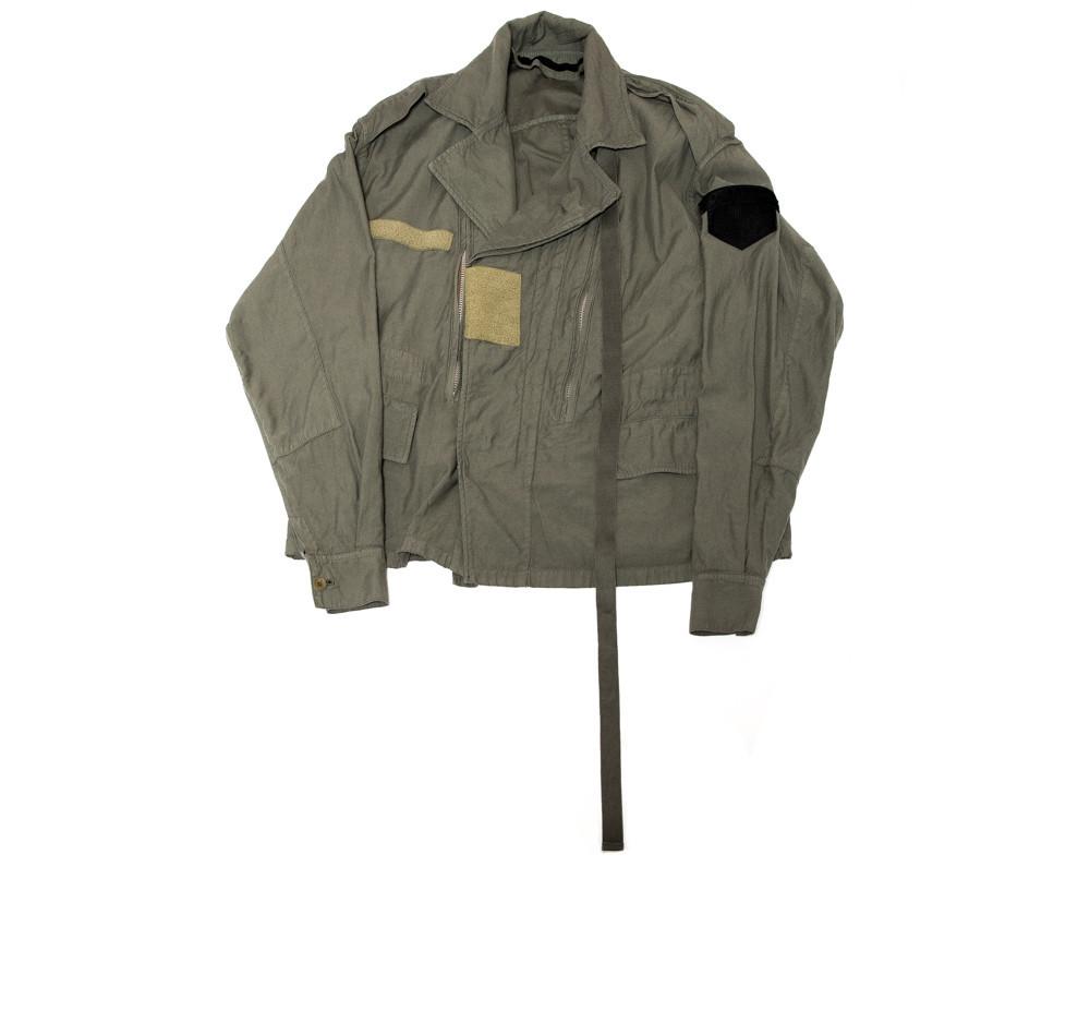 597BLM4-KHAKI / レイヤードミリタリージャケット