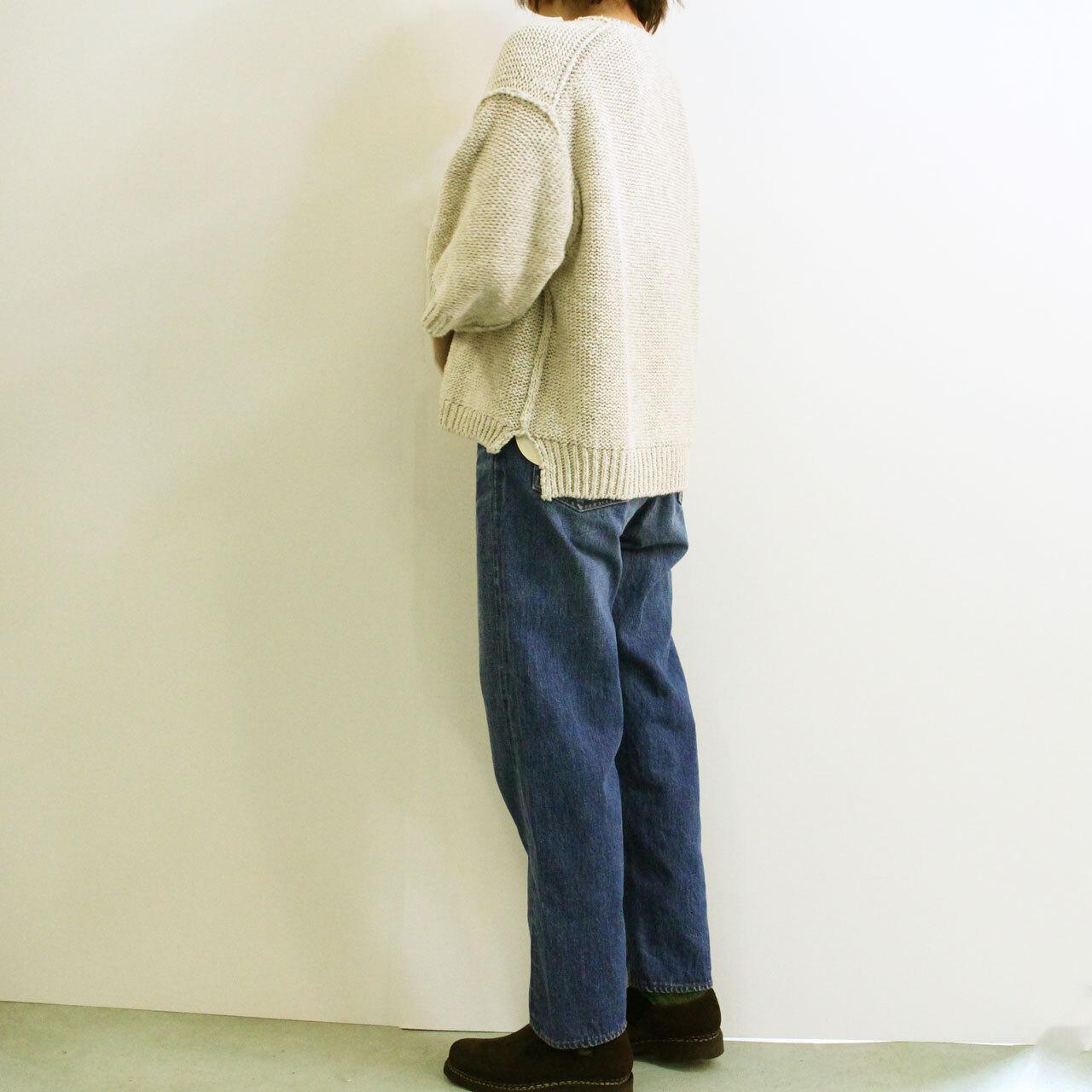 COMM.ARCH  コム・アーチ   レディースニット   HAND FRAMED MARBLE P/O