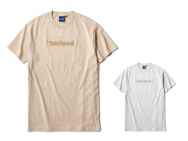 INTERBREED|Pile Patched Logo SS Tee